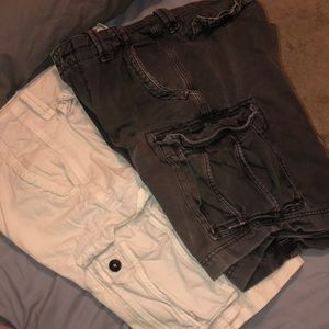 Cargo shorts from American Eagle outfitters
